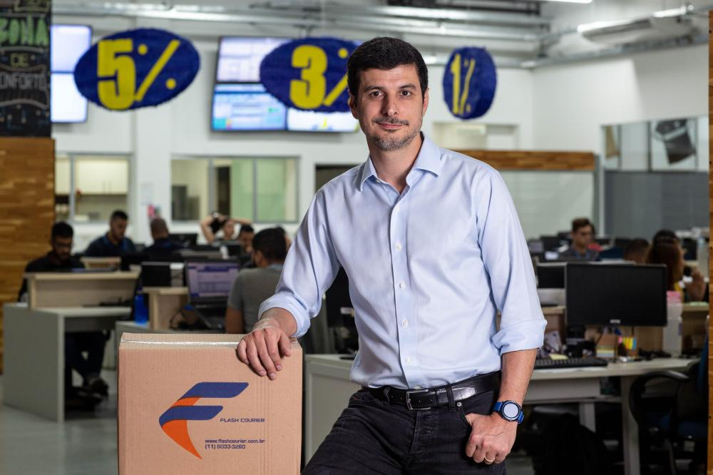 Guilherme Juliani, CEO da Flash Courier