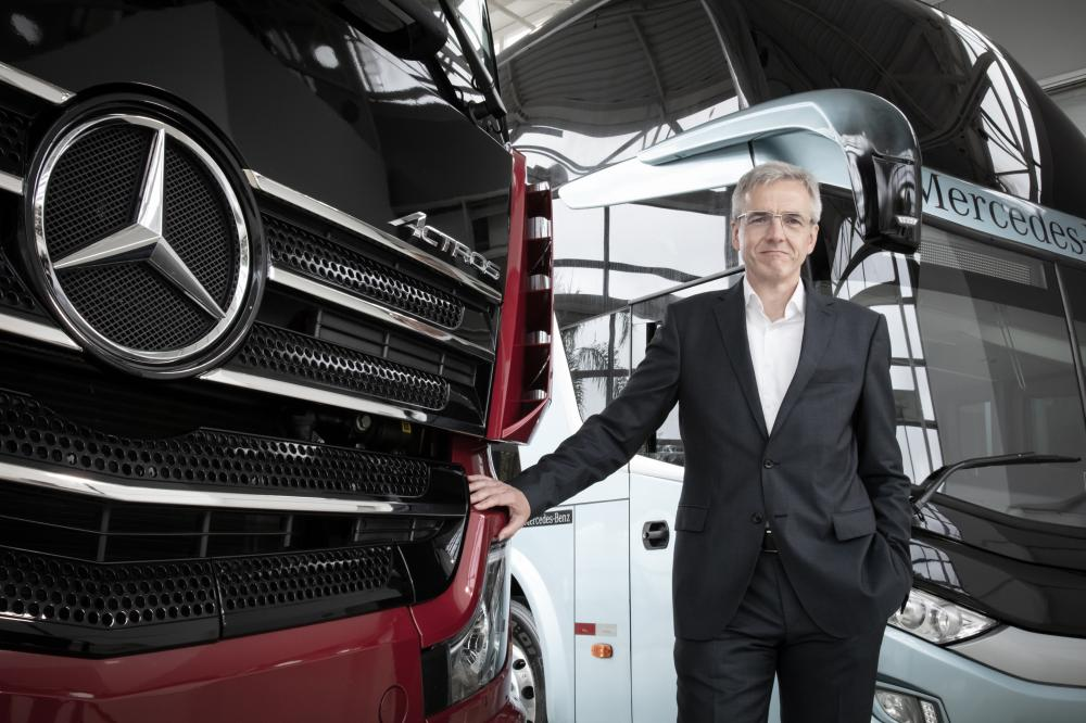 Mercedes-Benz aposta no crescimento do mercado brasileiro em 2021